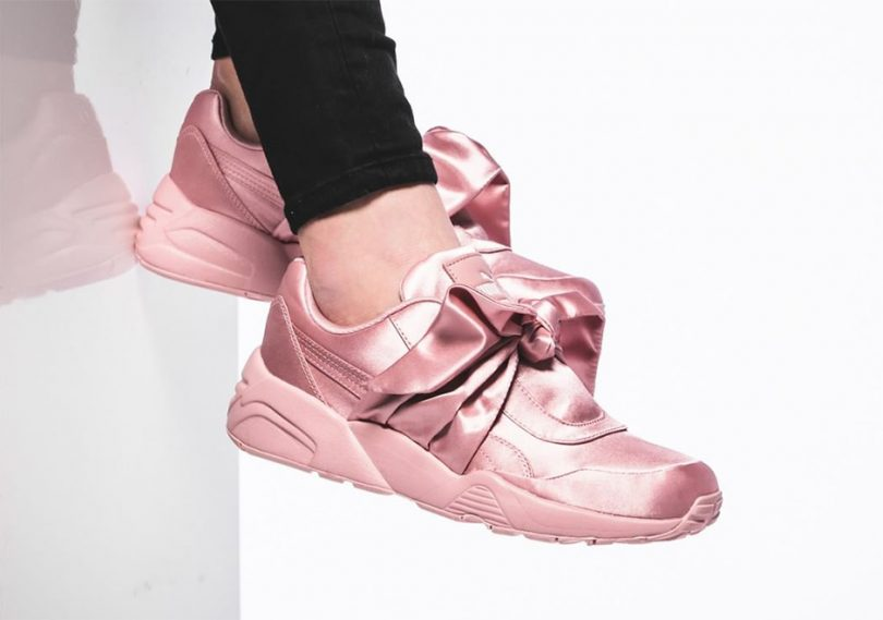 the latest 604d3 0aa35 Puma Rihanna Fenty Bow Sneaker Wome