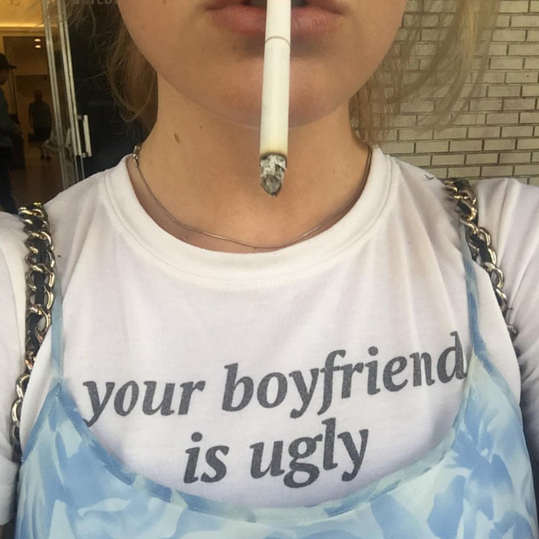 Your Boyfriend Is Ugly Fitted Tee
