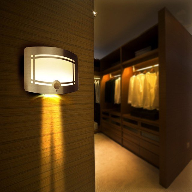 LED Sensor Wall Light