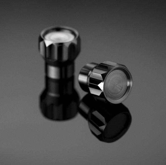 Coeus Titanium Valve Caps