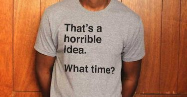 Horrible Idea Tee