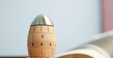 Wooden Rocket Calendar