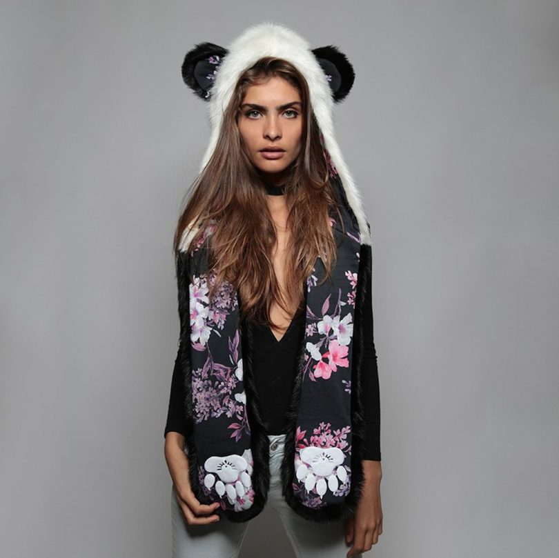 Panda CherryBlossom Bear SpiritHood