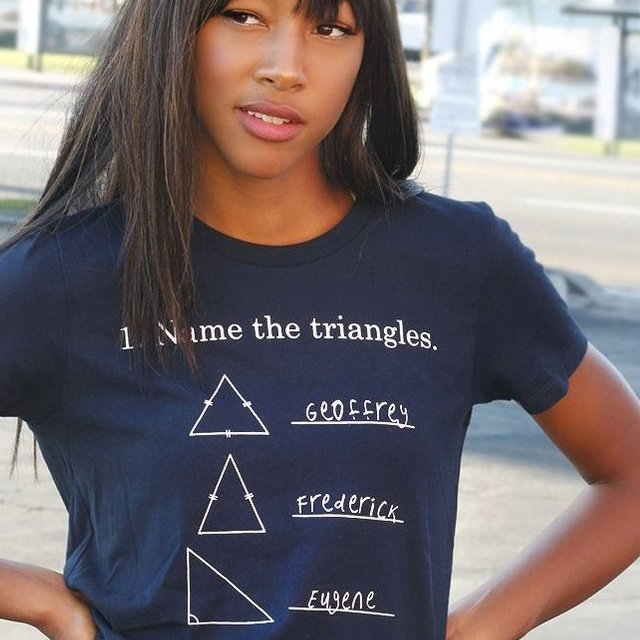 Name The Triangles T-Shirt