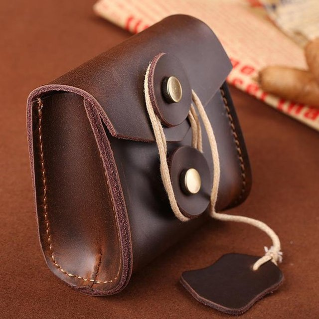 Leather Earphone Storage