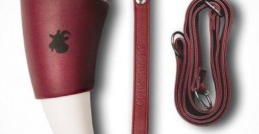 GOAT Mug Marsala Faux Leather 12 oz