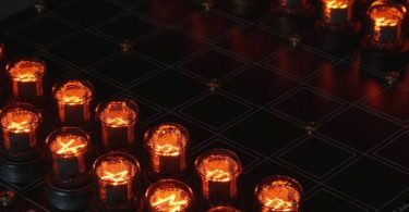 Nixie Tube Chess Set