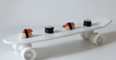 Skateboard Platter Plate