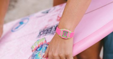 Shark Classic Mini Green/Pink Watch