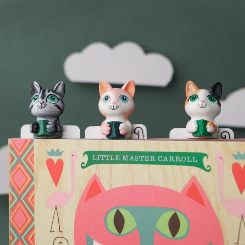 Kitty Reader Bookmark by MYBOOKMARK