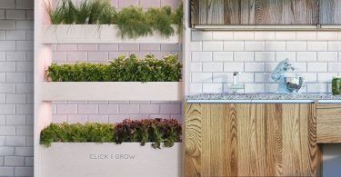 Click & Grow Wall Farm Indoor Vertical Garden