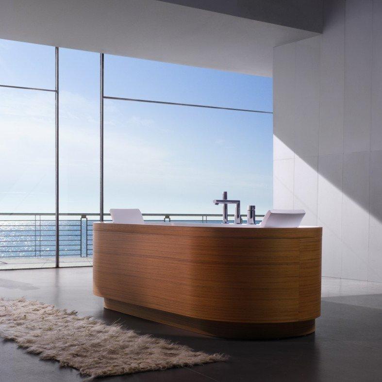 Yuma Art Free Standing Bathtub