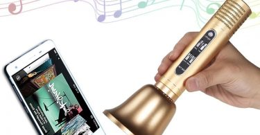 Handhold Bluetooth Speaker Karaoke Microphone