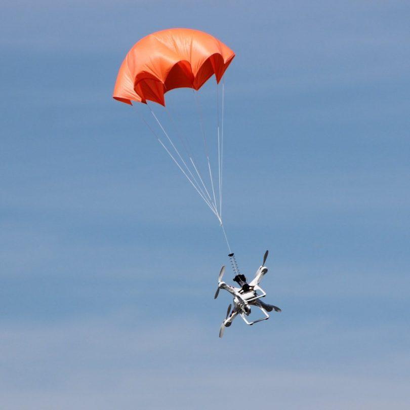 Mars Drone Parachutes