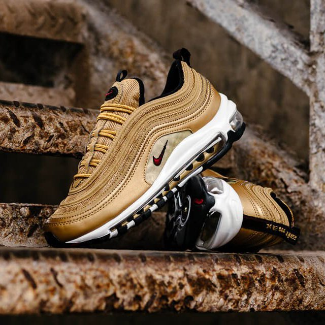 the best attitude 7ca36 a8894 Nike Air Max 97 OG QS Metallic Gold » Petagadget