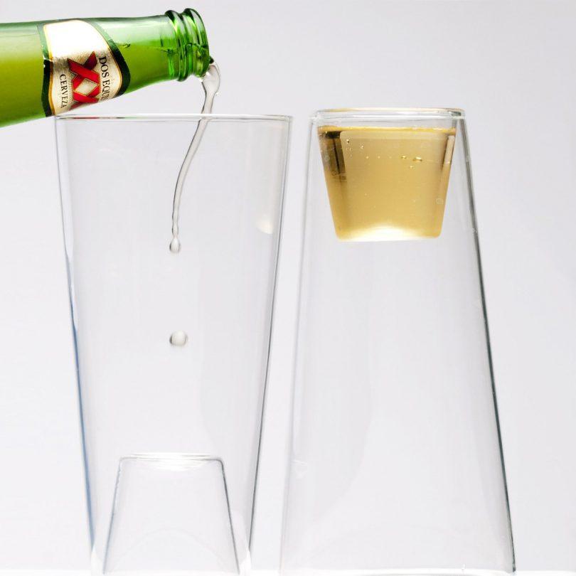 Beer/Shot Glass Set