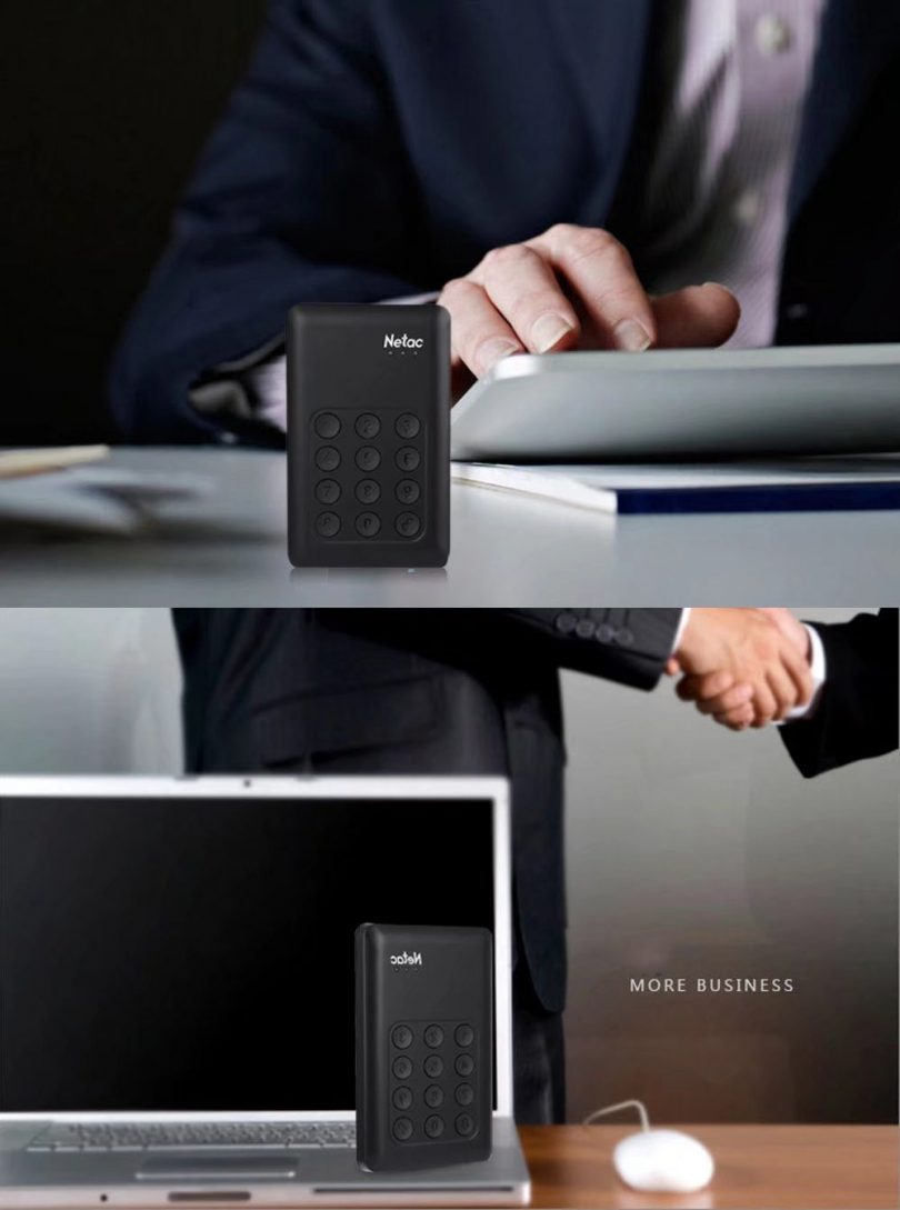 USB 3.0 Encrypted External Hard Drive