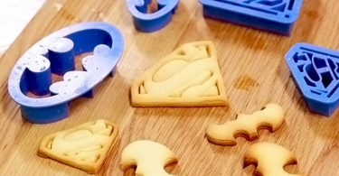 Batman and Superman Cookie Cutter
