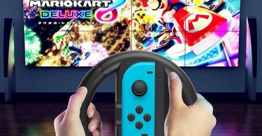 QUN FENG Joy-Con Steering Wheel for Nintendo