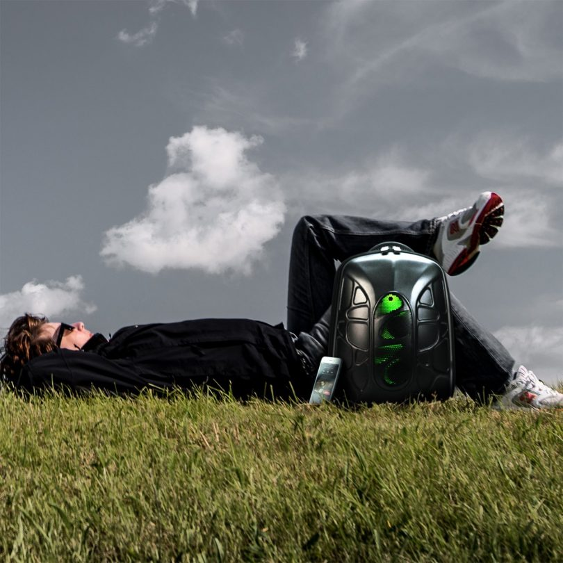 TRAKK SHELL Hiking Backpack with Waterproof Speaker