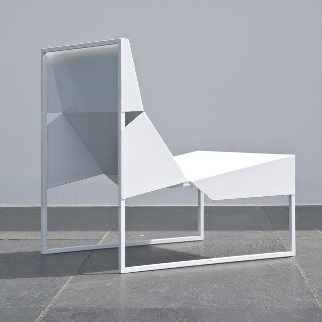 Paper Lounge Chair by Branca Lisboa