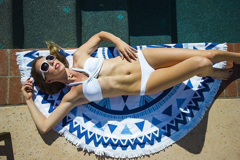 Premium Round Beach Towel