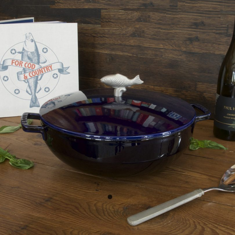 Staub Cast Iron 5-qt Bouillabaisse Pot