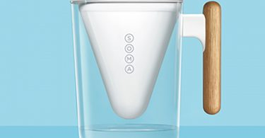 Soma Sustainable Pitcher with Plant-Based Water Filter