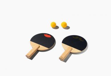 Huzi Design Paddles Rackets Set