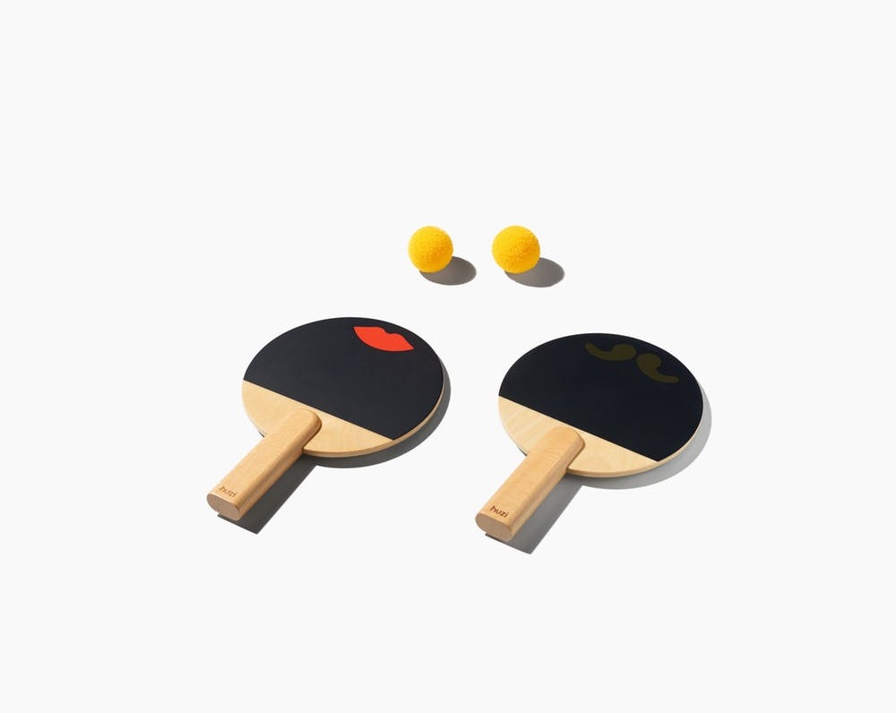 Huzi Design Paddles Rackets Set