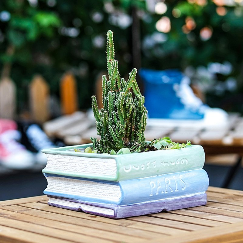 Book Flower Pots