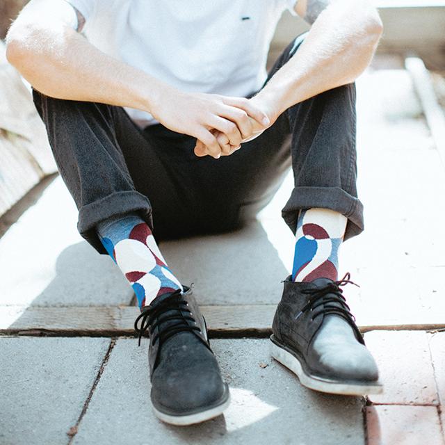 Warhol Crew Socks by Strollegant