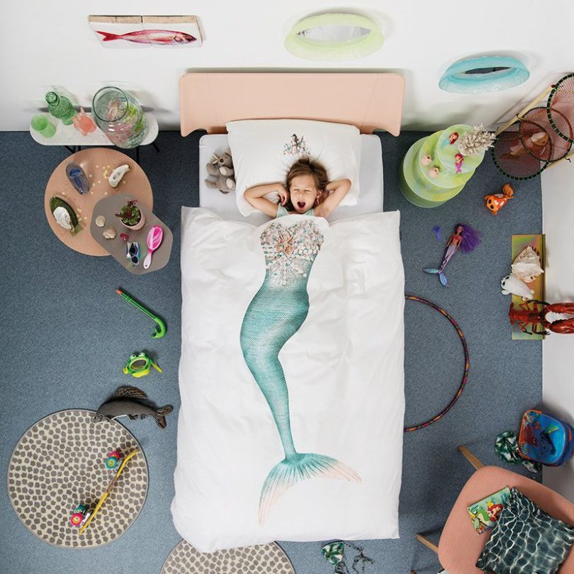 Mermaid Duvet Set by SNURK