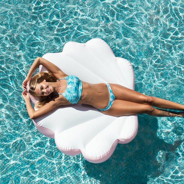 Floaty Pink Seashell