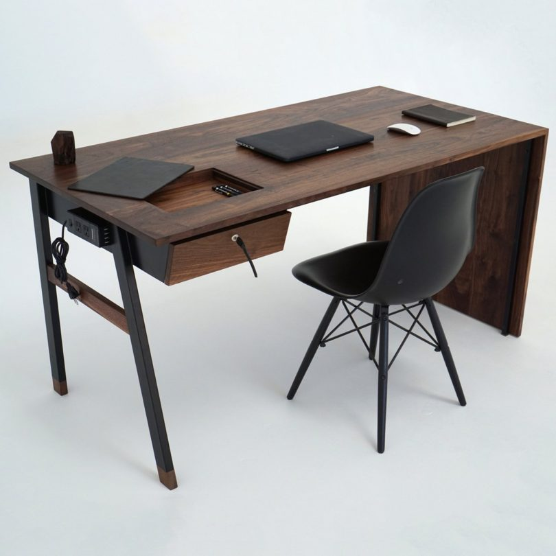 Waterfall Desk by Sean Woolsey Studio