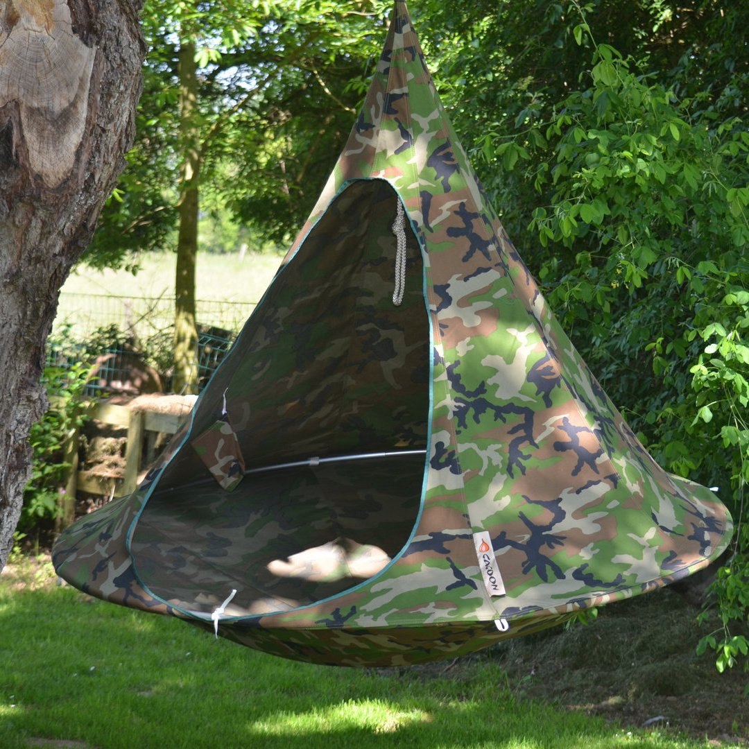 Camouflage Cacoon Tent