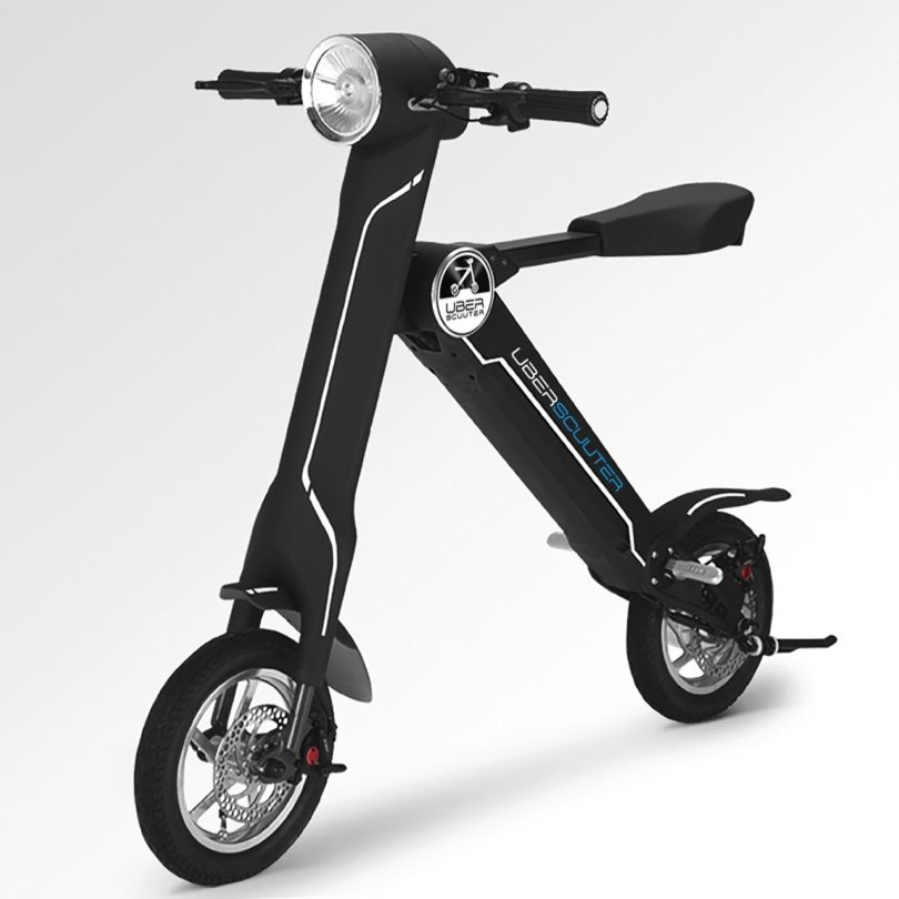 The uber scuuter plus the foldable electric scooter for Folding motorized scooter for adults