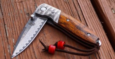 Cocobolo Linerlock Folder Knife