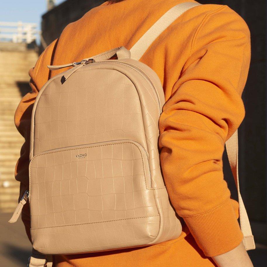 Nude Croc Mayfair Luxe Mini Mount 12″ Backpack