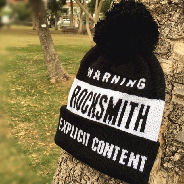 Rocksmith Warning Beanie