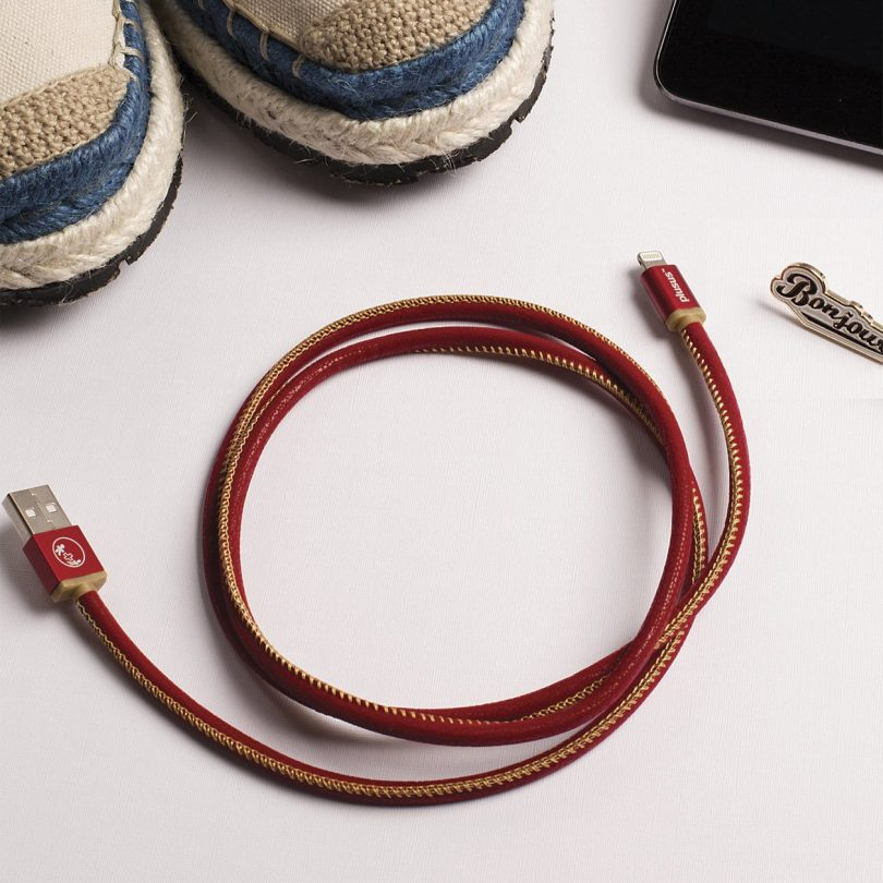Lifestar Handcrafted Ruby Sunset 0.25m Micro USB Cable