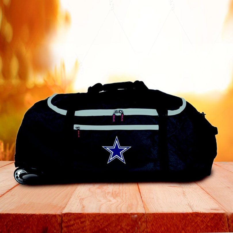 "NFL Dallas Cowboys 36"" Checked-in Rolling Duffel"