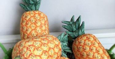 Pineapple Shaped Throw Pillow