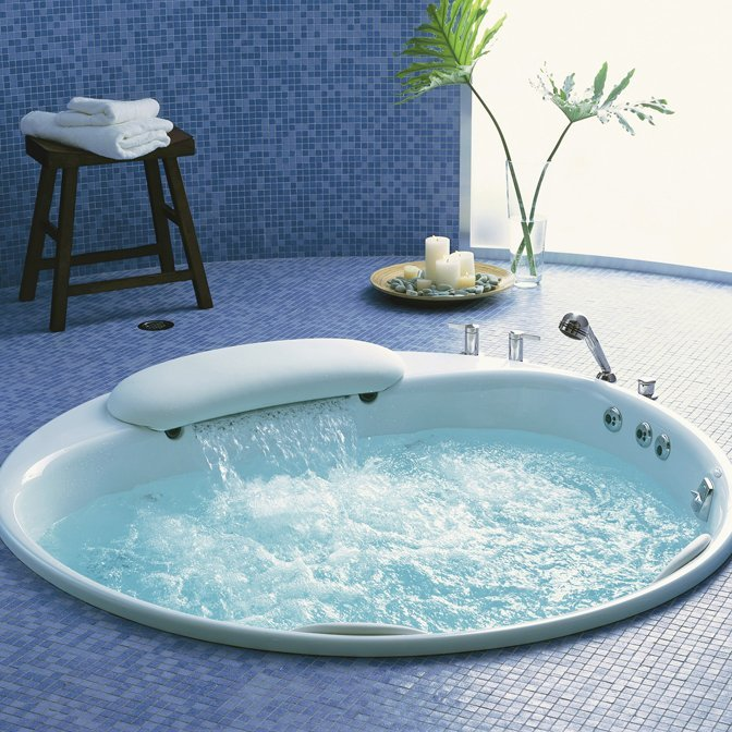 Riverbath Whirlpool Bath