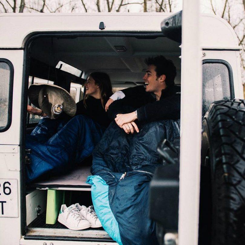 The Camperbox Backseat Bed Kit