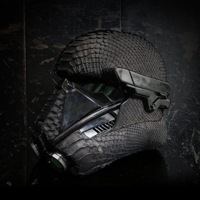Death Trooper Python Skin Helmet