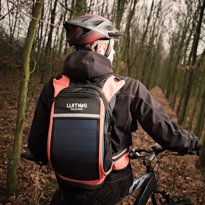 Lumos ThrillSeeker Solar Hydration Daypack