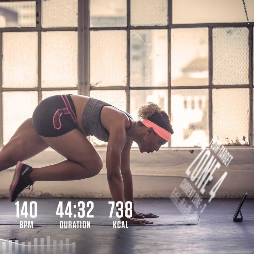 Moov HR Sweat Fitness Coach