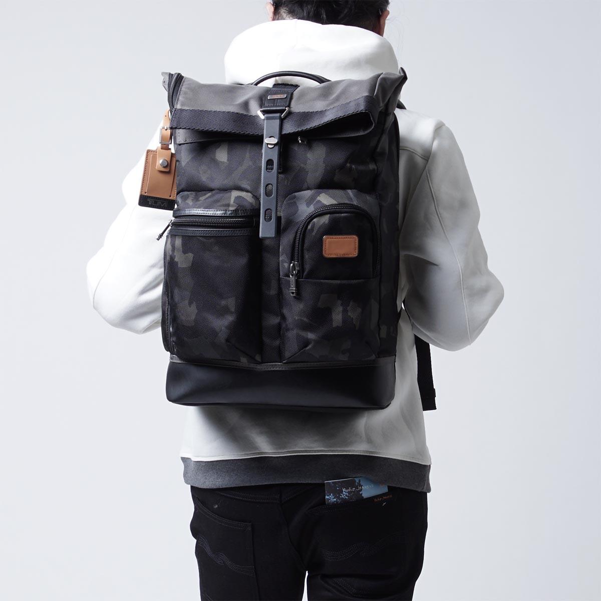Tumi Alpha Bravo Luke Roll Top Backpack 187 Petagadget