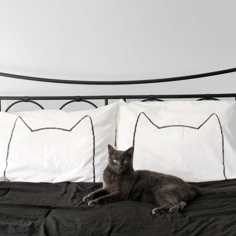 Cat Nap Pillowcase Set